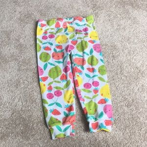 Fruit Theme Leggings 2T